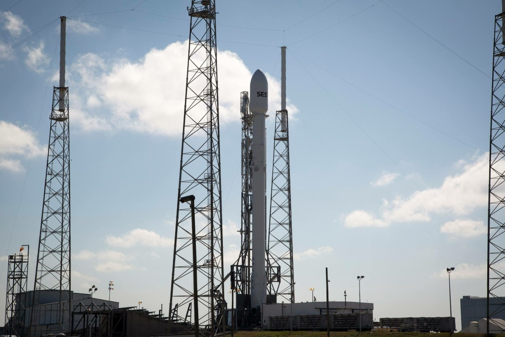 Video: SpaceX successfully lands rocket on barge at sea in ...