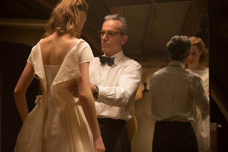 Daniel Day-Lewis and Vicky Krieps star in