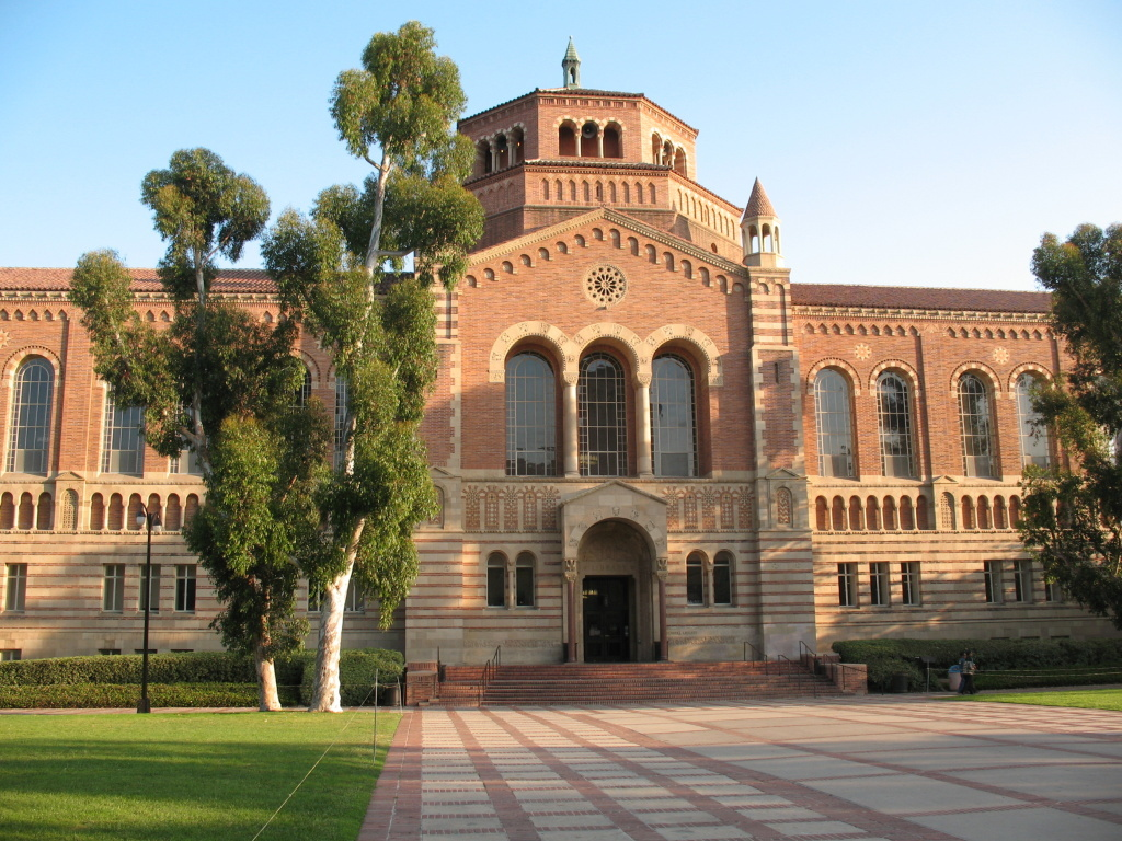 The UCLA campus in Los Angeles, California.