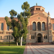 A stock image shows the campus of UCLA.