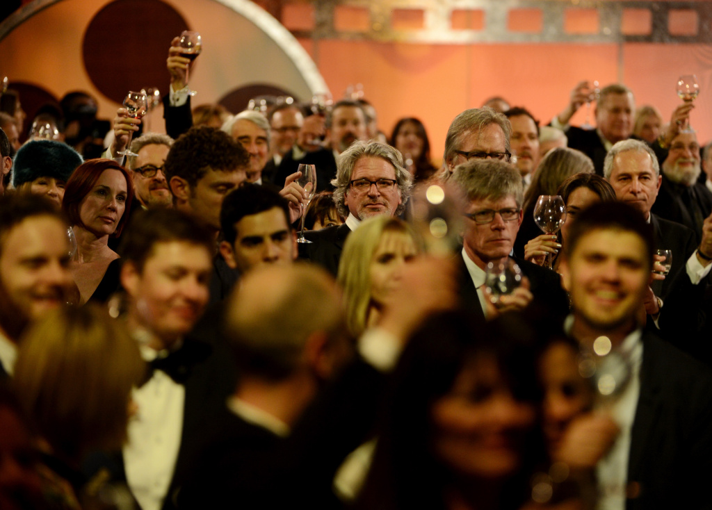 File: View of audience members during the 65th Annual Directors Guild Of America Awards at Ray Dolby Ballroom at Hollywood & Highland on Feb. 2, 2013 in Los Angeles.