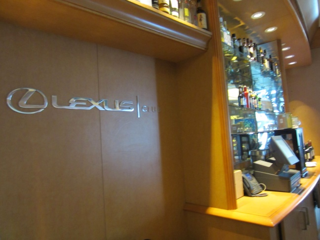 In the Lexus Club, the system can provide a appropriately luxurious stream of HD content.