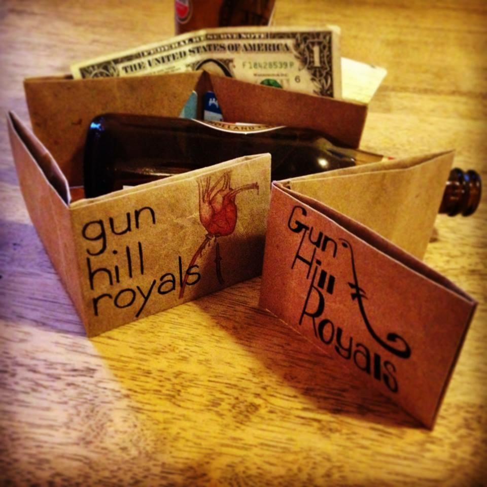 A new merch idea by Gun Hill Royals; wallets. Courtesy Gun Hill Royals