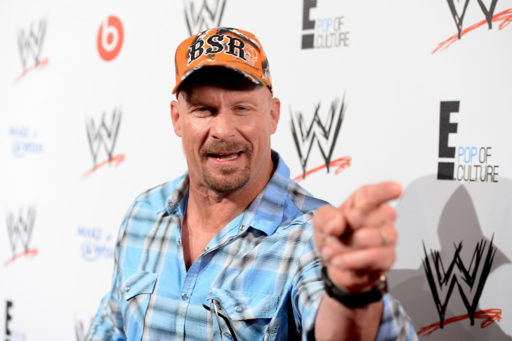 Actor/former pro wrestler Steve Austin attends WWE & E! Entertainment's