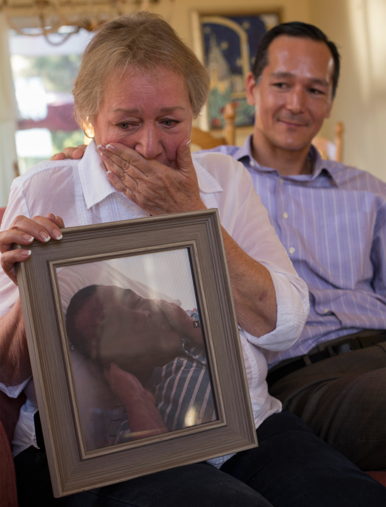 Rochelle Nishimoto recounts the death of her son Jason with her other Adrian.