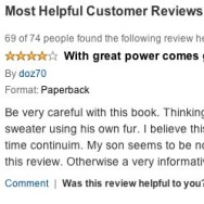 online review, amazon review
