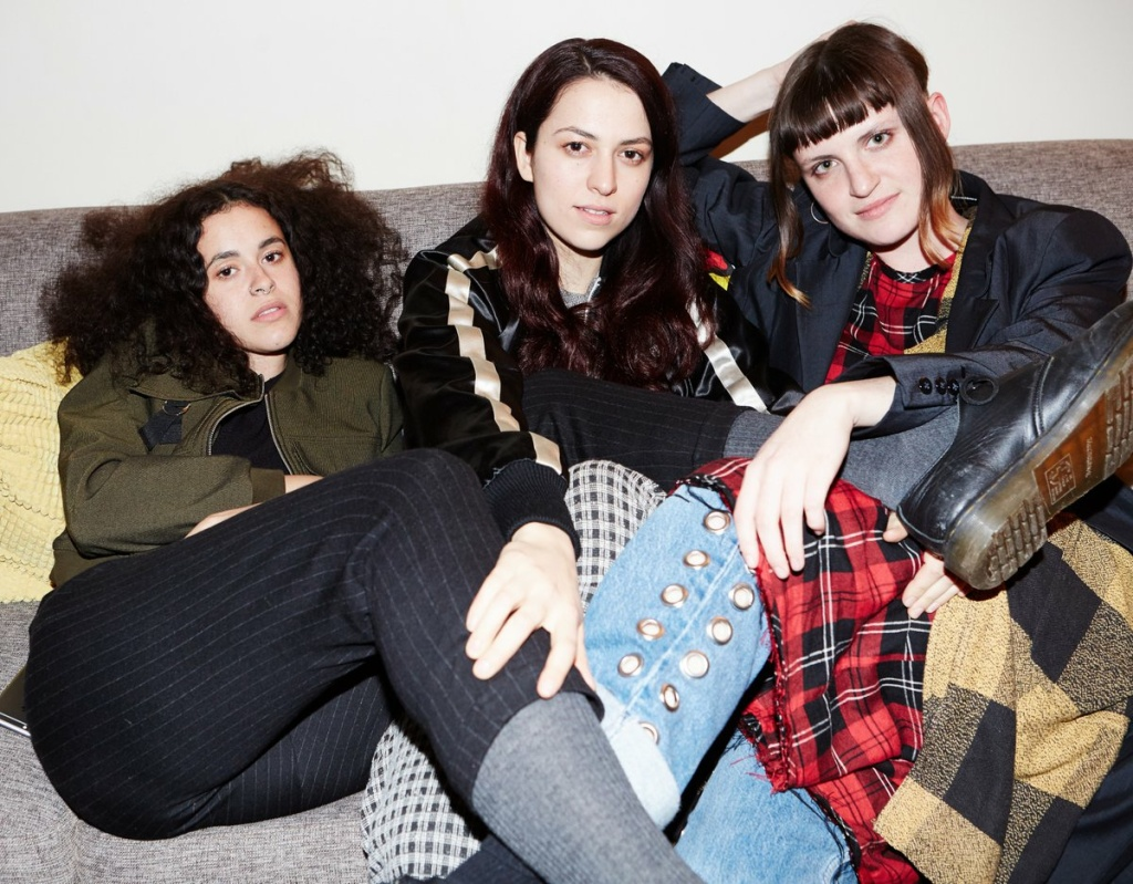 Queer girl group MUNA prepares for first headlining tour with a show at LA's Teragram Ballroom