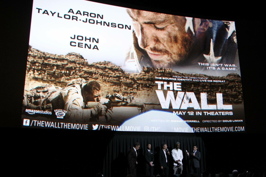 John Cena, Aaron Taylor-Johnson, Doug Liman and Dwain Worrell at a Q&A following the premiere of