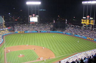 File photo: Dodgers Stadium - Milwaukee Brewers @ Los Angeles Dodgers, May 6, 2006