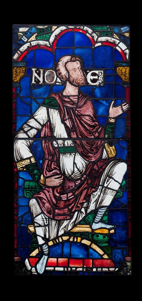 Stained-Glass, Canterbury Cathedral, Kent, UK, England, Window Panels from SXXViii