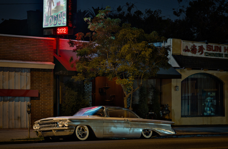 National Geographic photographer Gerd Ludwig has been photographing LA's sleeping cars for seven years.