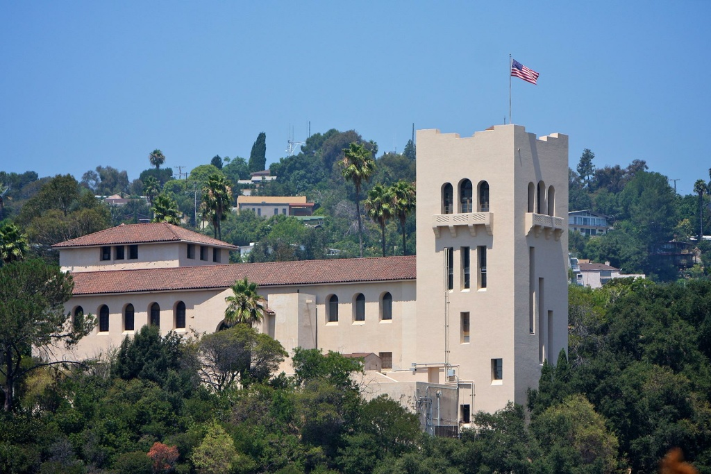 The Southwest Museum near Mount Washington