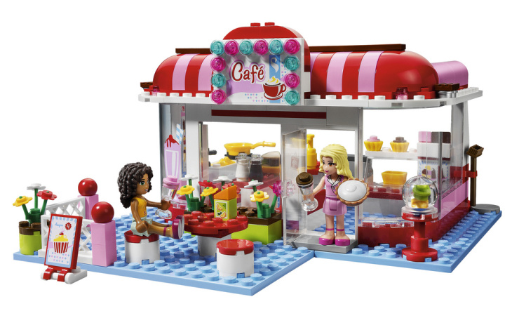 LEGO Friends is a new line of Legos being marketed to girls