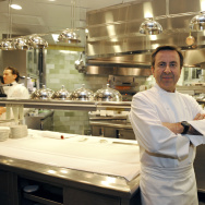 French chef Daniel Boulud poses in the k