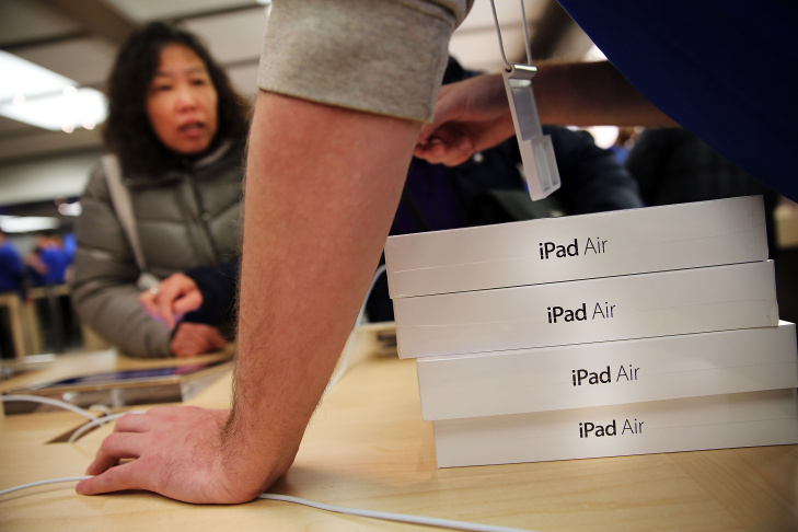 Apple's New iPad Air Goes On Sale