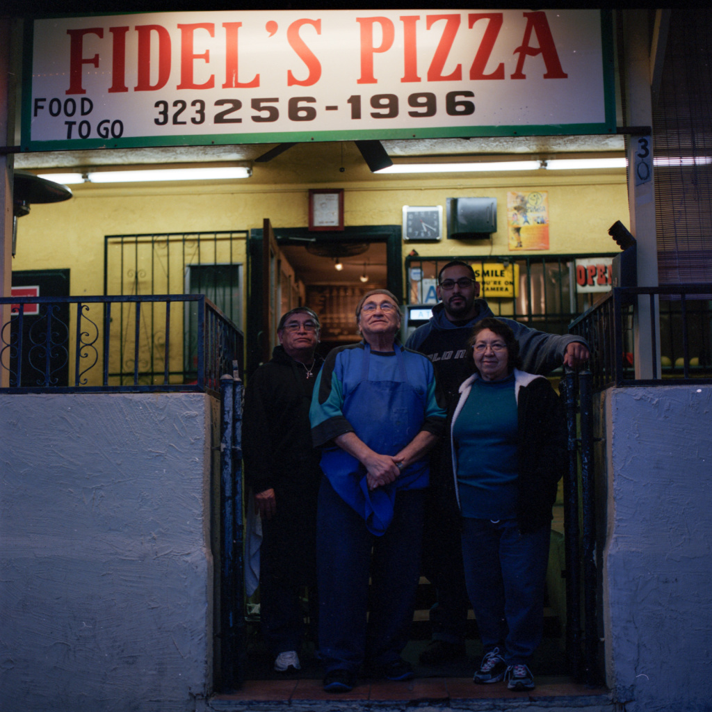 The Zapata family has owned Fidel's Pizza in Highland Park for almost 40 years.