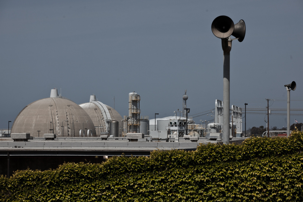 The San Onofre Nuclear Power Plant is seen on April 6, 2012.