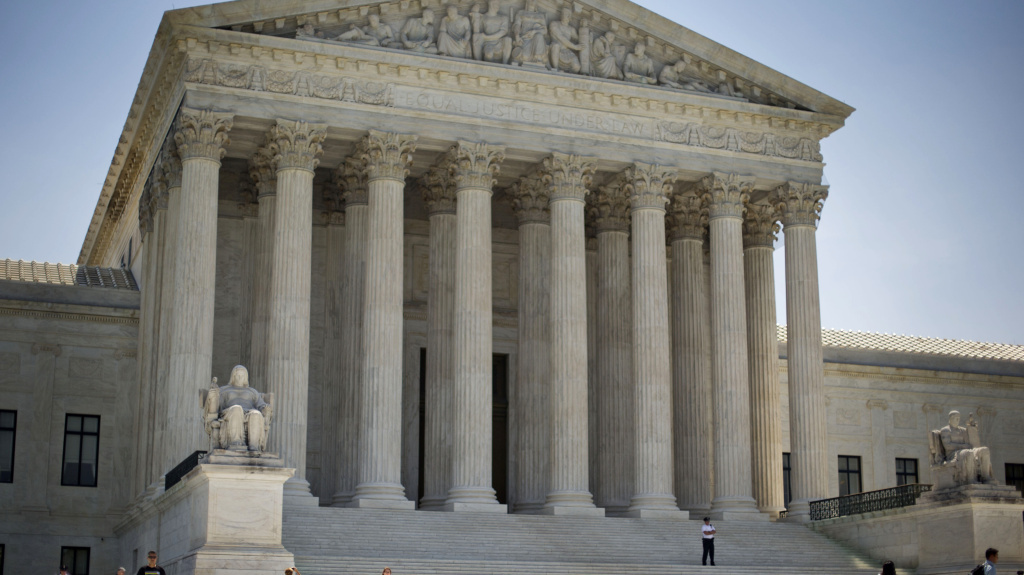 The Supreme Court divided 4-4 in a case that considered whether public employees represented by a union can be required to pay