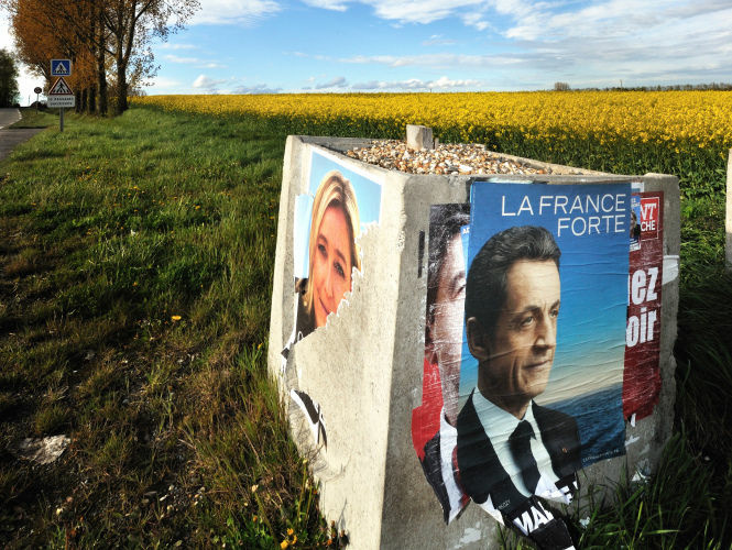 In the final days before the French presidential runoff, the hunt is on for voters who supported far-right candidate Marine Le Pen.