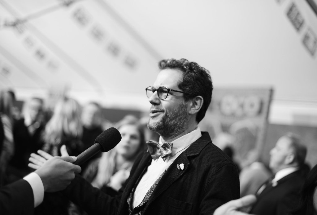 Composer Michael Giacchino at the U.S. Premiere of Disney-Pixar's