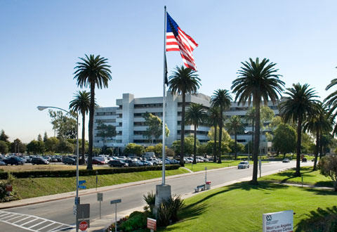 The Department of Veterans Affairs' West Los Angeles Medical Center.