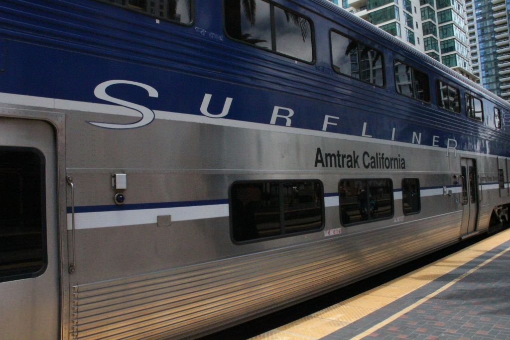 The Amtrak Pacific Surfliner