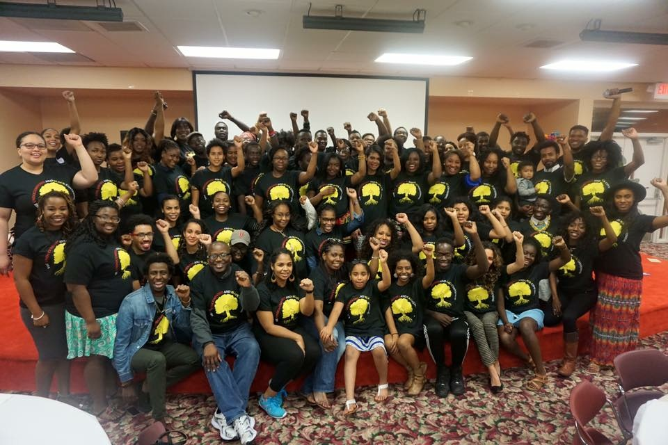 Participants at the 2016 Undocumented and Black Convening in Miami, Janauary 2016.