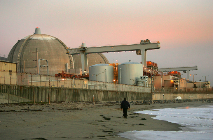 Southern California Edison's Thomas Palmisano tells an audience the San Onofre nuclear plant cleanup will take