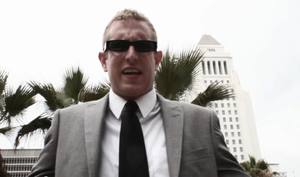 "Luke Caldwell, AKA 'Lukerative"", created a video for his favorite candidate in the Los Angeles mayor's race."