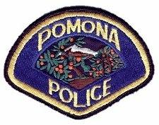 Pomona police patch