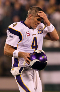 Brett Favre just realized he made a big mistake.
