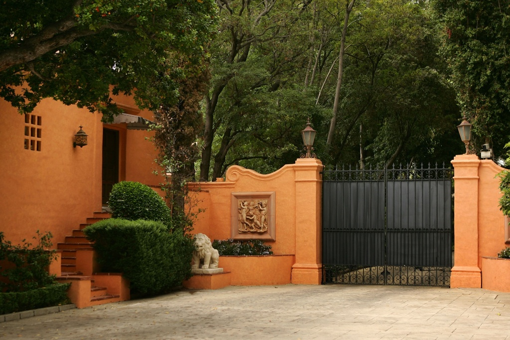 The gated entrance is closed to the Beverly House mansion of William Randolph Hearst and Marion Davies after the residence was put on the market this week for $165 million, the most expensive listing in U.S. history July 10, 2007 in Beverly Hills, California.