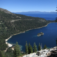 Travel Destination: Western USA lake tahoe