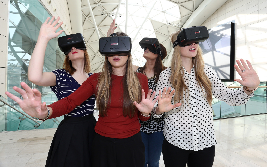 Westfield introduces world first Oculus Rift Virtual Reality headsets ahead of 'Future Fashion' an immersive pop-up experience.