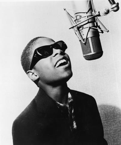 Portrait Of Stevie Wonder