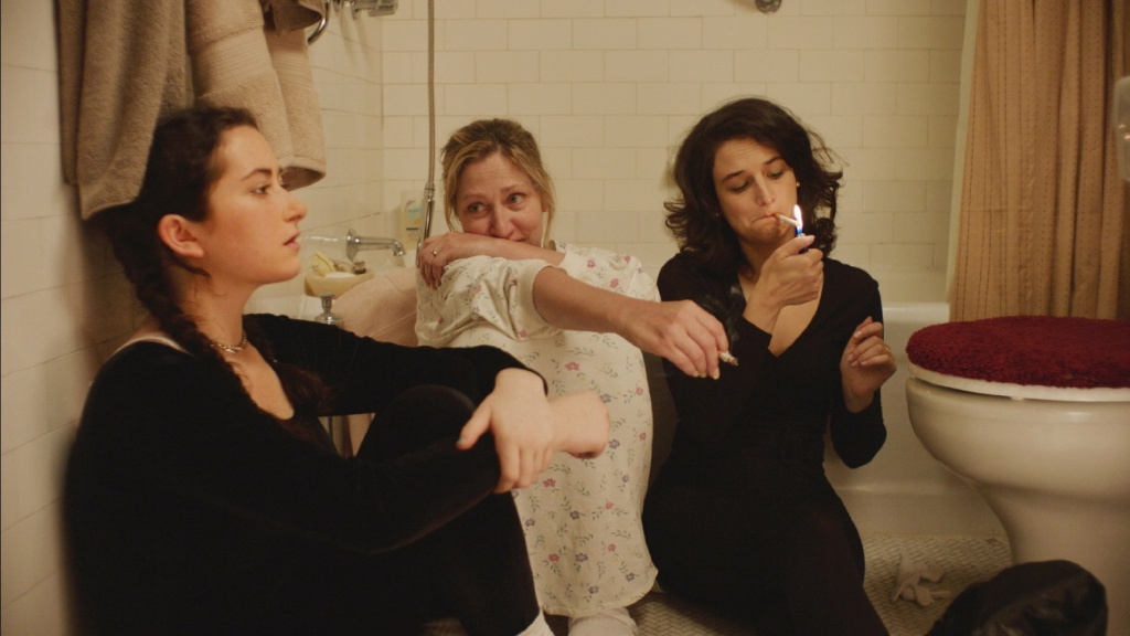 Edie Falco, Jenny Slate, and Abby Quinn in Landline (2017)