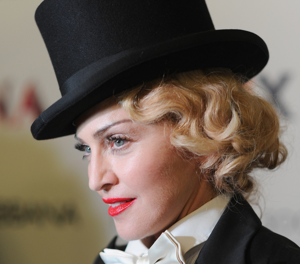 NEW YORK, NY - JUNE 18:  Madonna attends the Dolce & Gabbana and The Cinema Society screening of the Epix World premiere of