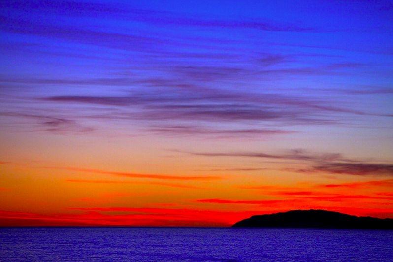 Sky above Catalina.