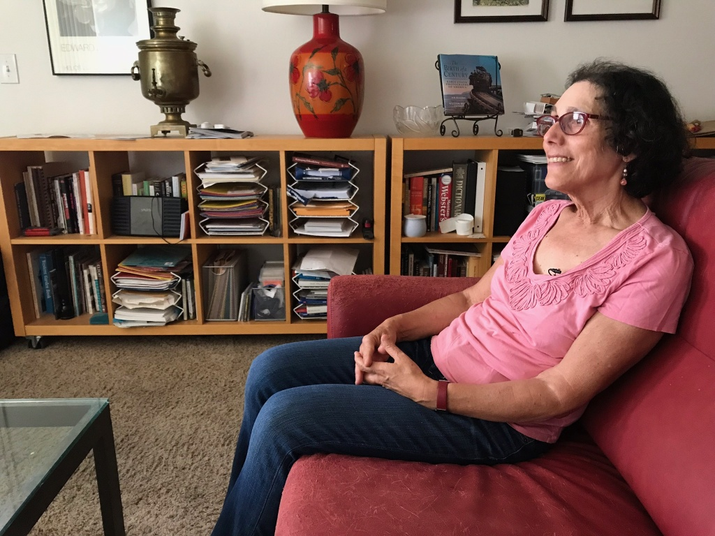 Retiree Rosanne Goodwin receives $2,060 a month in Social Security benefits each month but it's about $400 less than her expenses, June 1, 2018.