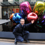 "Jeff Koons ""Tulips"" Photo Call"