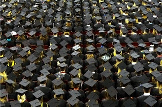 California's high school graduation rate is up to 78 percent.