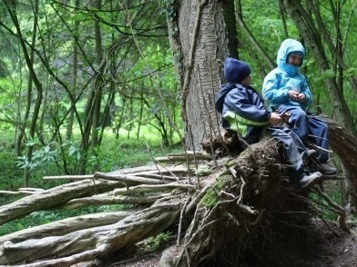 Some parents are opting for schools where children spend time exploring outside and guiding their own learning.