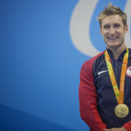 Paralympic multiple gold medalist Brad Snyder.