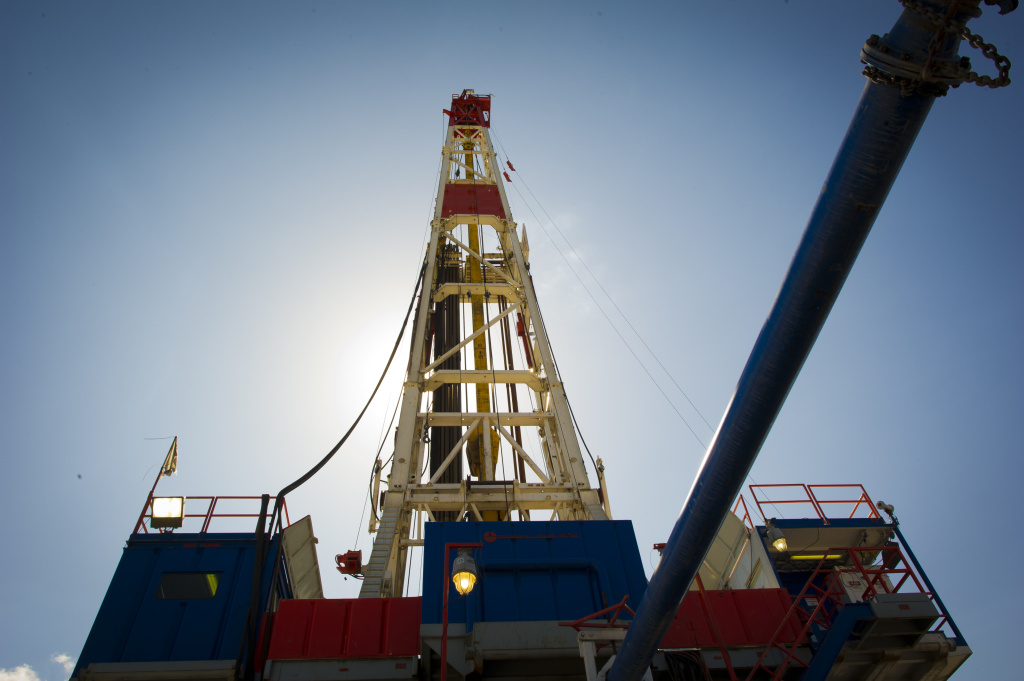 File photo: Federal regulators have approved three new fracking jobs off the California coast. The California Coastal Commission will meet today to  discuss hydraulic fracturing.