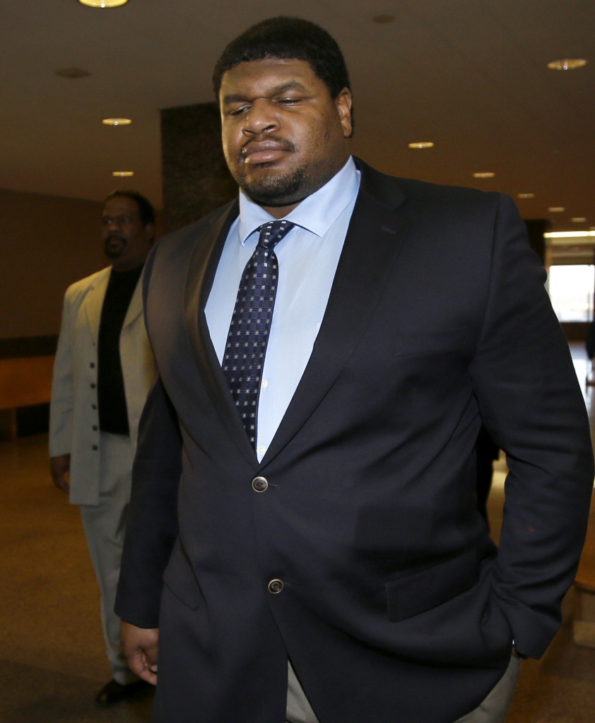 Former Dallas Cowboy Josh Brent earlier this month.