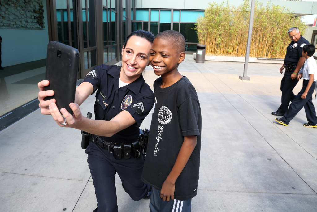 Los Angeles Police And Autistic Youth Learn From One
