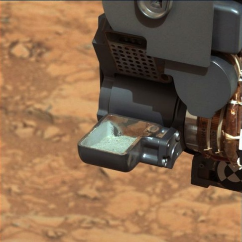 Mar rover Curiosity NASA