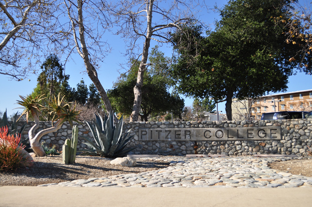 A photo of Pitzer College, a member of the Claremont Colleges.