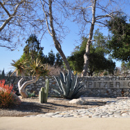 "A photo of Pitzer College, a member of the Claremont Colleges, where controversy has been brewing after a roommate wanted ad posted by students specified ""[People of Color] only."""