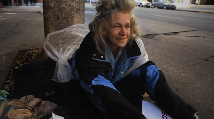 Homeless in Downtown LA